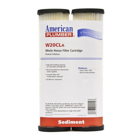 Plumbing Filters by W20cla American Plumber Whole House Filters Discountfilterstore