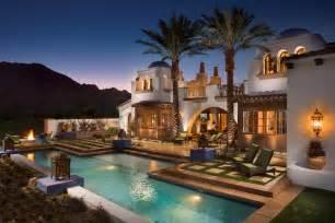 La Hacienda Fireplace - hacienda homes this beautiful spanish hacienda style home is located at 80185 via