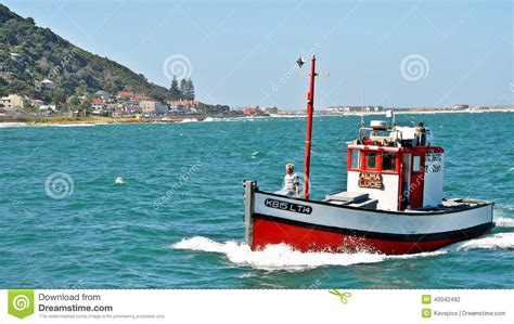 small fishing boats south africa kalk bay harbor cape town south africa editorial