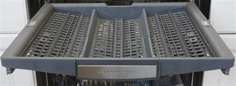 bosch dishwasher plate rack bosch benchmark series shx7pt55uc dishwasher review reviewed com dishwashers