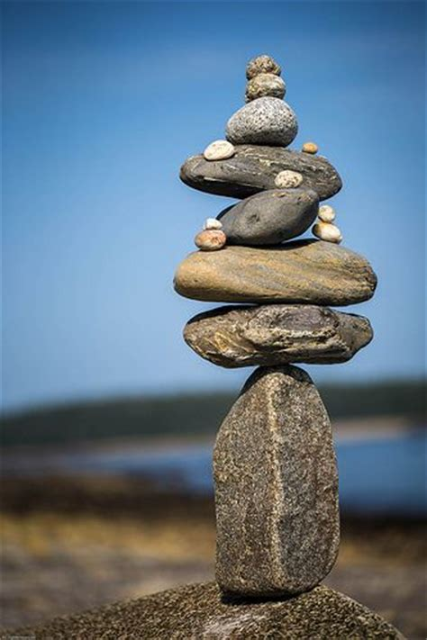 rock stacking rock stacks pinterest