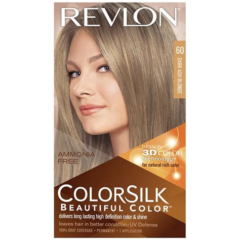 Revlon Colorsilk Hair Color revlon colorsilk 60 ash my chemist