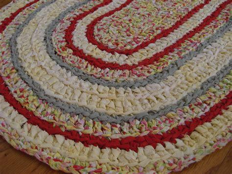 crochet oval rug crochet rag rug oval puddin n pie