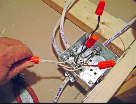 electrical wiring junction box attic electrical get free
