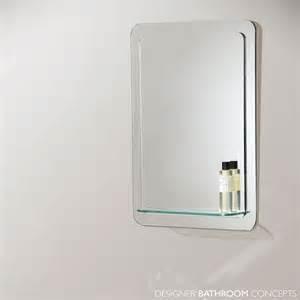 bathroom mirror with glass shelf bathroom origins katerini designer bathroom mirror with glass shelf 500mm el katerini