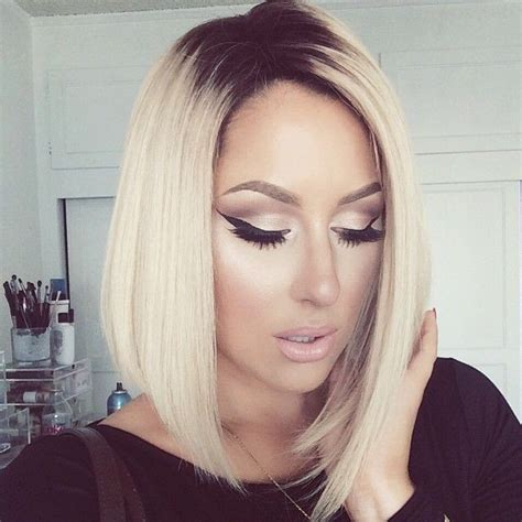 black at root of hair 18 hottest bob hairstyles popular haircuts