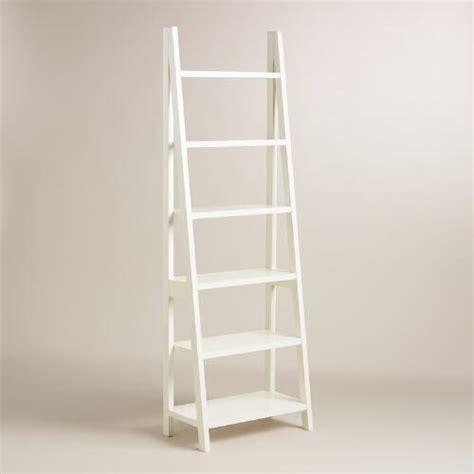 white metal bookcase white lacquer josephine bookcase world market