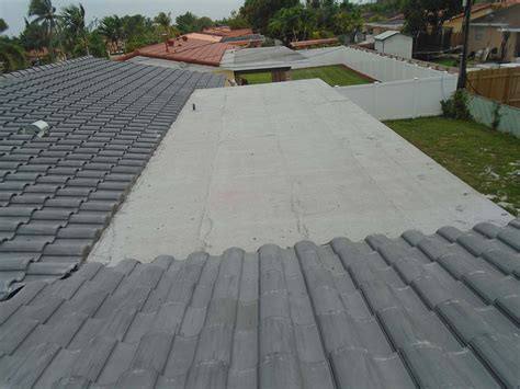 Flat Concrete Roof Tile Concrete Roof Tile S Tile Miami General Contractor