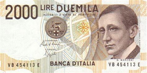 cambio lira d italia oud geld uit itali 235 inwisselen italiaanse lires