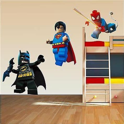 details about lego superhero set superman spiderman batman