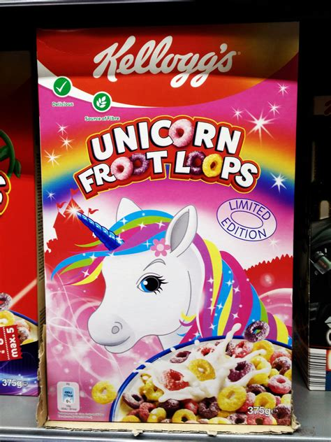 fruit unicorn kellogg s launches limited edition unicorn froot loops