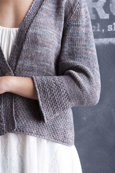 knitting pattern linen sweater linen stitch jacket interweave