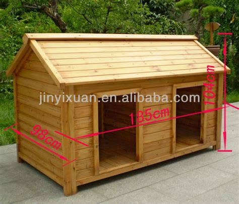 double dog houses wood double dog kennel outdoor large dog house for two doggy stuff
