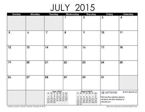 free printable monthly calendars july 2015 download a free july 2015 calendar from vertex42 com