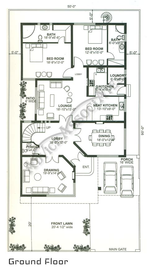 2 bed house plans