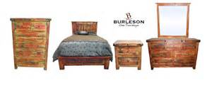 Real Wood King Size Bedroom Sets King Size Real Wood Rubbed Bedroom Set Western Rustic