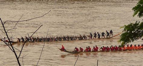 dragon boat festival vientiane laos gets festive with dragon boat races journeys within