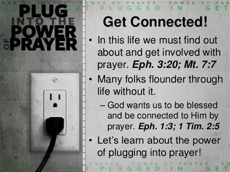 Power In Prayer into the power of prayer