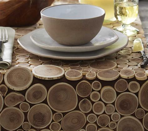 table runner with placemats reclaimed teak branch table runner placemats and