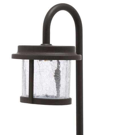 Low Voltage Outdoor Lighting Home Depot Upc 082392296339 Outdoor Lighting 1 Light Low Voltage Bronze Led Path Light With Crackle