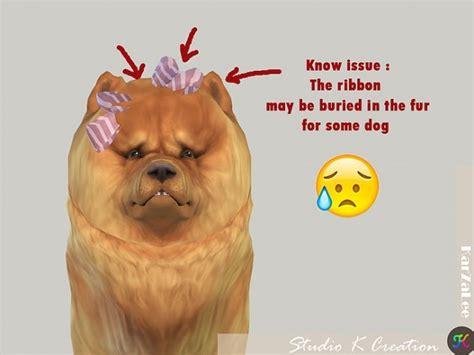 bow set at studio k creation 187 sims 4 updates dog head bow at studio k creation 187 sims 4 updates