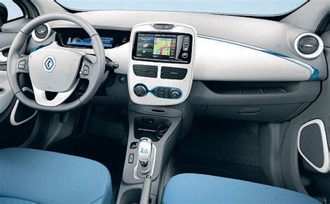 renault zoe interior renault zoe electric dreams gncars com