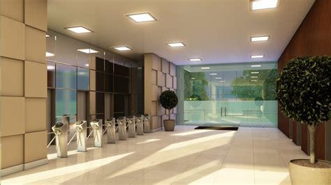 decoração hall de entrada de predio boa vista ganhar 225 empresarial badalado blog social 1