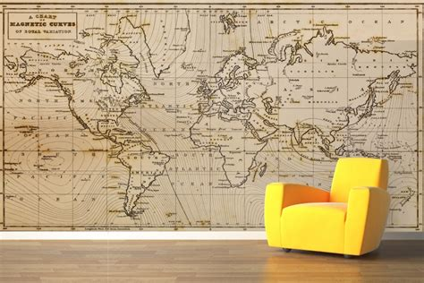 map wall mural 2017 grasscloth wallpaper