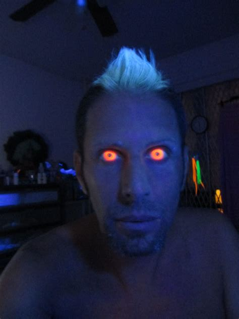 Black Light Contacts by Orange Glow Uv Camoeyes