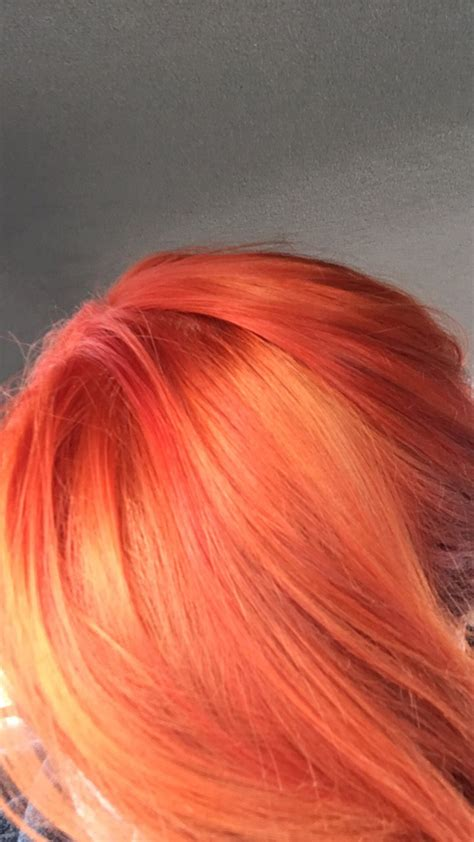 blood hair color ion color brilliance blood orange h a i r