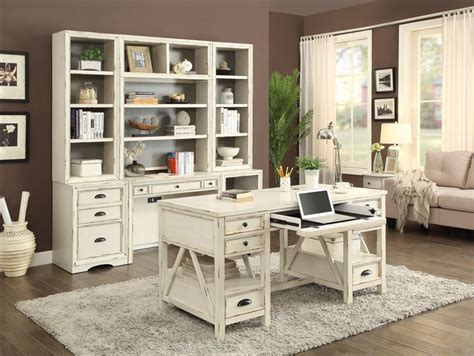 Office Supplies Nantucket Nantucket 7 Modular Home Office Set In Vintage