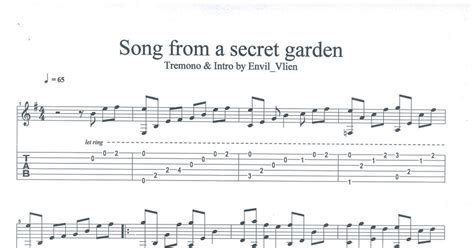 secret guitar tab guitar tabs secret garden tremono pdf drive