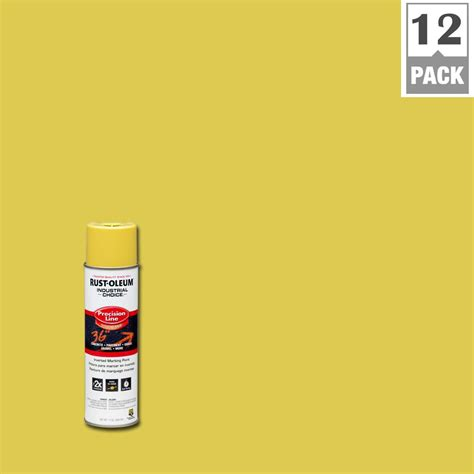 rust oleum industrial choice 17 oz high visibility yellow