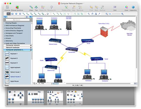 create network diagram free network diagram powerpoint nabweb info