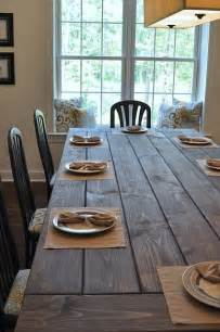 make your own farmhouse dining table for the home