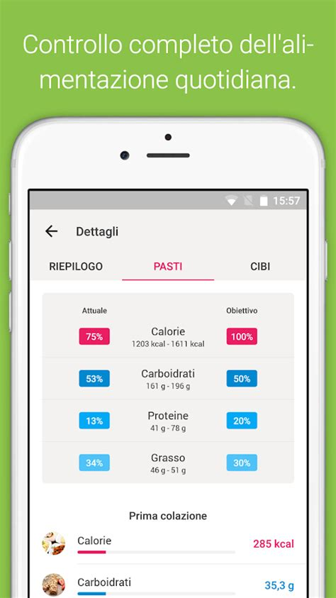 app diario alimentare android conta calorie diario dieta app android su play