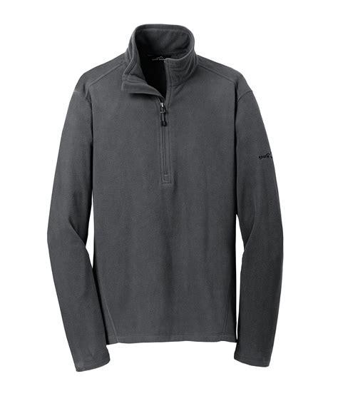 custom eddie bauer mens  zip microfleece jacket