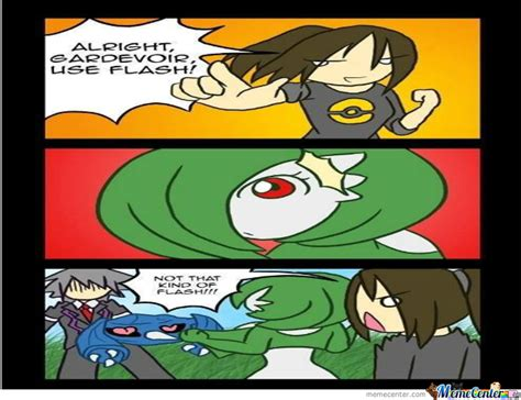 Gardevoir Memes - gardevoir use flash by absolution9 meme center