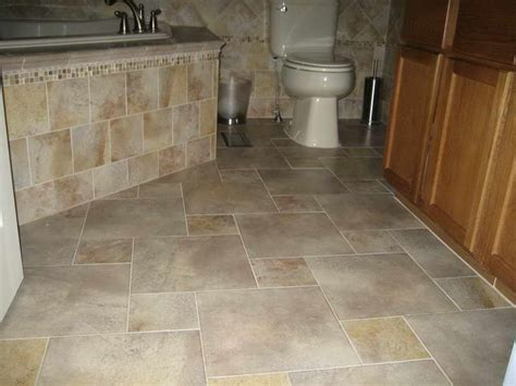 tiling bathroom floor bathroom bathroom tile patterns floor cabinet with wood