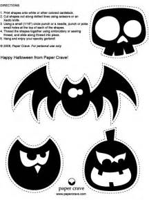 Halloween Print Out Decorations Paper Crave Halloween Freebies Halloween Garland Two
