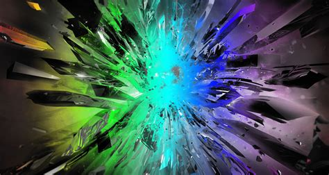 wallpaper crystal green crystal colorful explosion wallpaper gemology geology