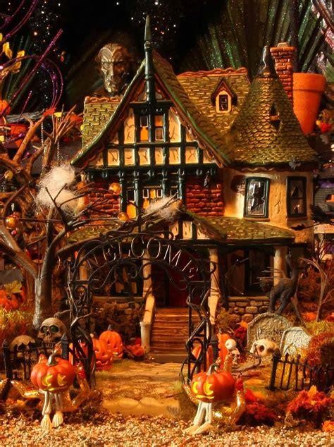 halloween village houses department 56 halloween village merloworld dvd