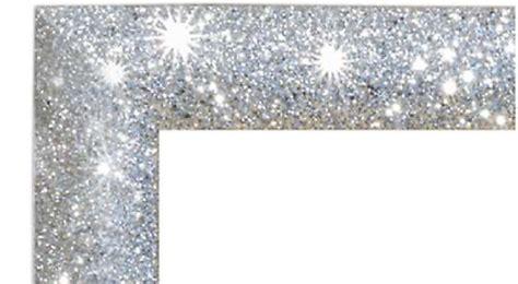 cornici glitterate specchio grande glitter con cornice di brillantini