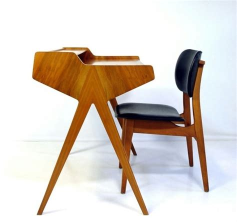 midcentury desk chair 36 elegant mid century desks to get inspired digsdigs