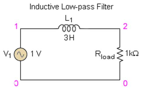 low pass filter inductor formula feee fundamentals of electrical engineering and electronics low pass filters