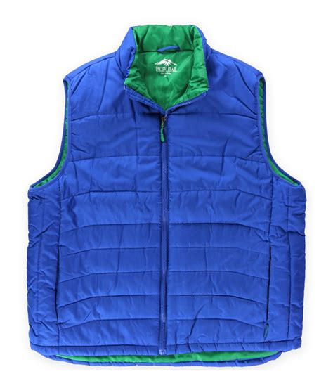 puffer vest pacific trail mens solid puffer vest mens apparel free shipping on all domestic