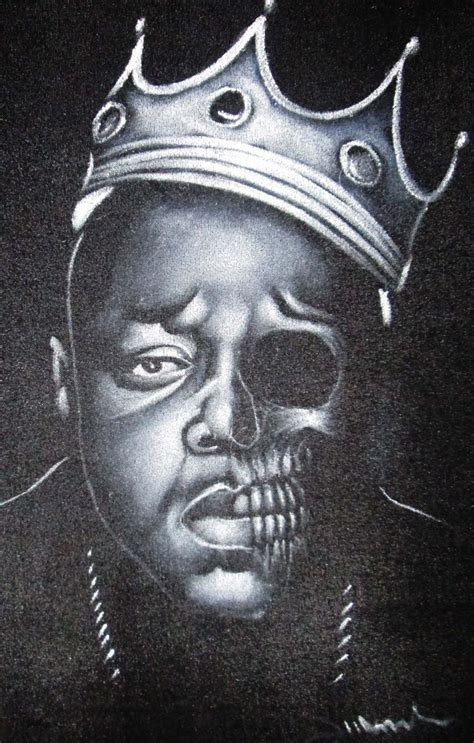 biggie smalls portrait the notorious b i g calavera
