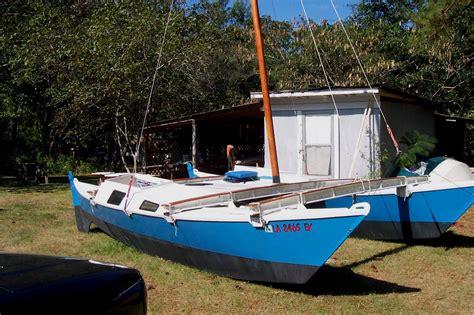 element a wharram tiki 21 catamaran a tiki 21 rescued a