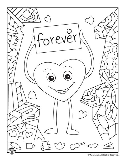free printable hidden pictures for valentines day valentine s day hidden picture card woo jr kids activities