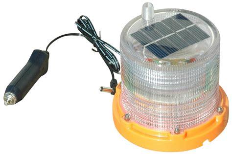 Larson Electronics Magnalight Releases Solar Powered Solar Powered Strobe Light